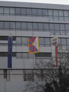 Tibet_Flagge_Erlangen
