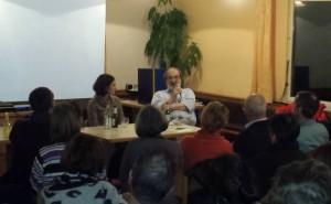 Verfassungsrichter Wilhelm a.D. im Gespräch mit dem Publikum