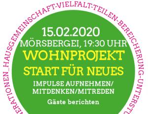 Veranstaltung Wohnprojekt am 15.02.2020